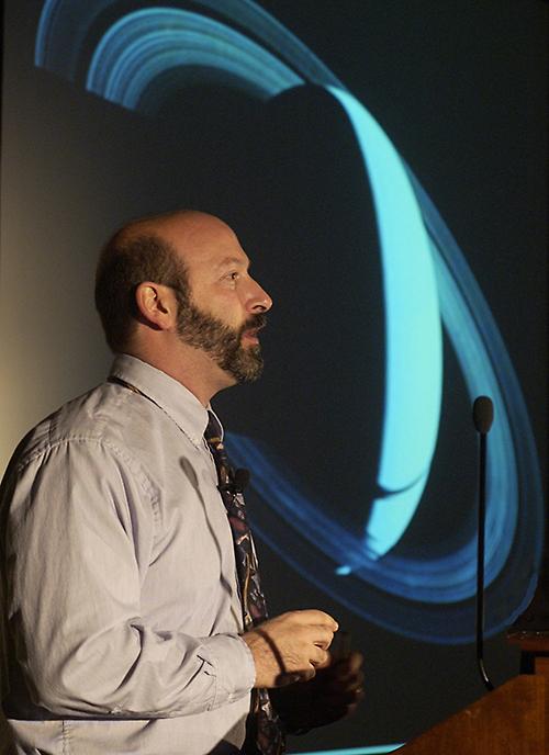 David Weintraub lecturing