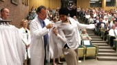 White coats a fine fit for incoming medical students