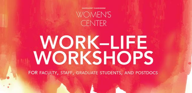 Work-Life Workshops Fall 2021