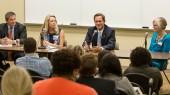 Legislators encourage nursing students to share real-life impact of health care issues
