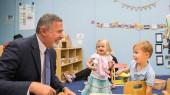 Michael Yudin, Karl Dean visit Susan Gray School