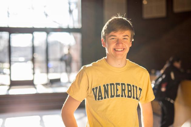 Zach Elliott, Class of 2016, is a Jeff and Marieke Rothschild Scholarship recipient.