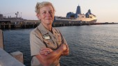 Vice Adm. Nora Tyson, BA'79, to retire
