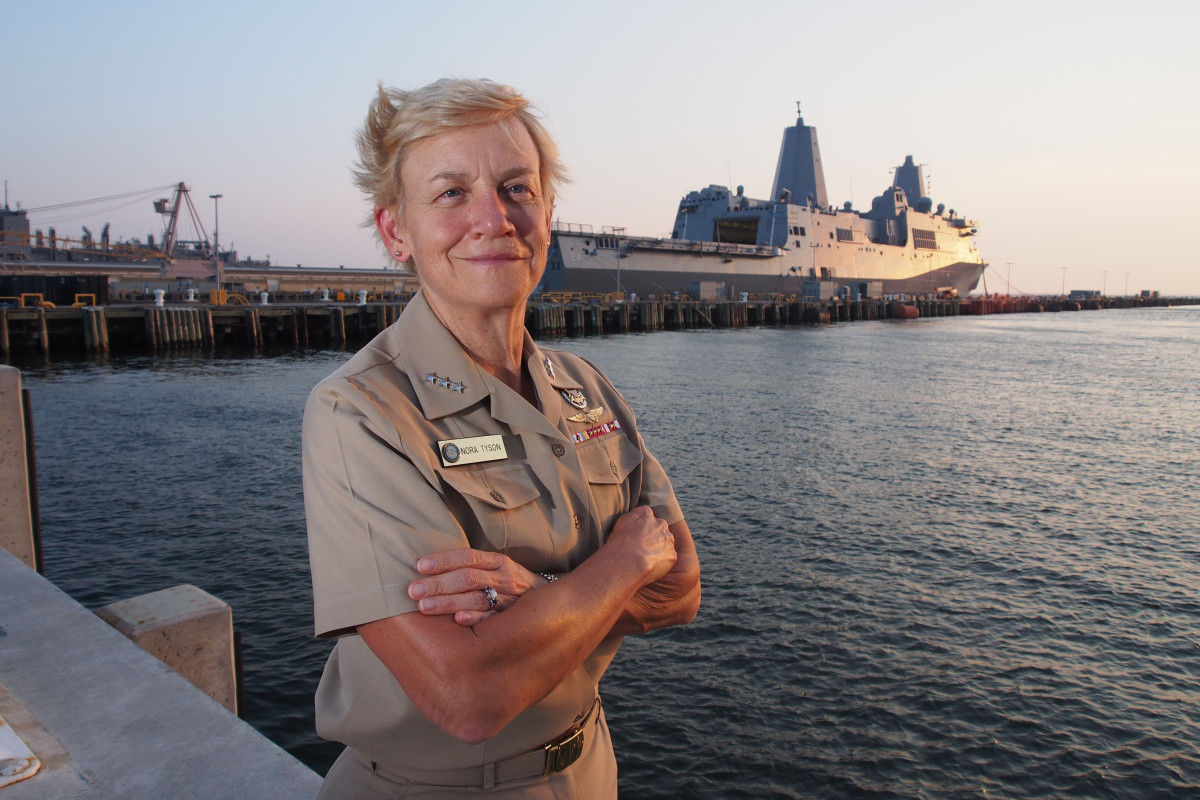 Rear Admiral Nora Tyson