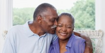 african american senior citizen couple