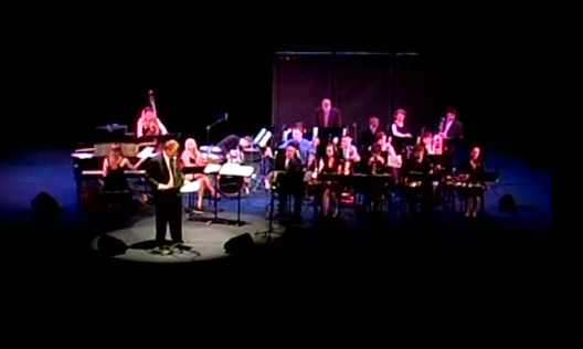 Video: Blair Big Band presents Winter Jazz