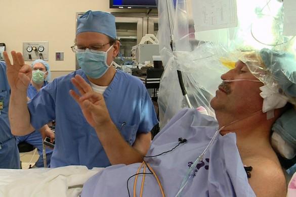 VUCast Newscast:  Inside a Preds coach's deep brain stimulation surgery