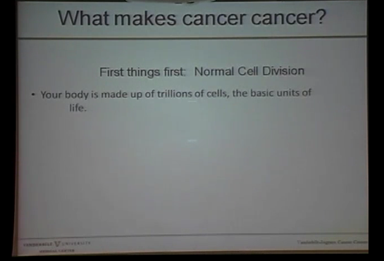 "Dr. Michael Neuss: ""How much progress has been made in the fight against cancer?"""