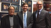 Wernke, Frederick visit D.C. to advocate for humanities funding