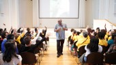 Inspiration is everywhere, author tells Nashville middle-schoolers