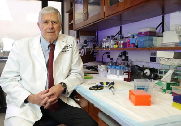 "Dr. Harold ""Hal"" Moses, MD'62, the Hortense B. Ingram Chair in Cancer Research at Vanderbilt University"