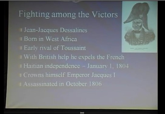 """""""The Americas in the Age of Revolution, 1776-1836"""" (part 3)"""