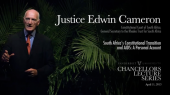 """Justice Edwin Cameron: """"South Africa's Constitutional Transition and AIDS: A Personal Account"""""""