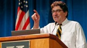 Zeppos takes pride in preserving American dream; marks 25 years at faculty assembly