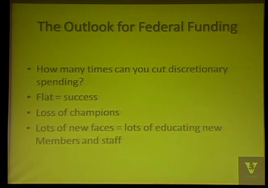 Federal Forum: Impact of Deficit Reduction on Higher Education