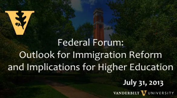 Outlook for Immigration Reform and Implications for Higher Education