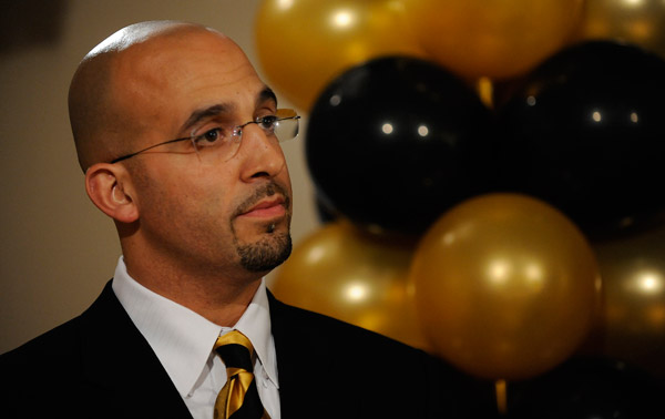 Chancellor: Hiring of James Franklin marks new day for football program