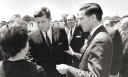 President Kennedy and Chancellor Heard