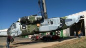 Giant helicopter arrives: First step for engineering lab