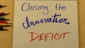 Watch: Close the innovation deficit