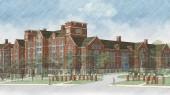 College Halls rises on campus