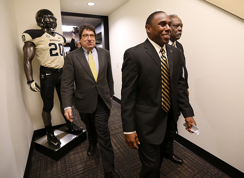 Chancellor Zeppos, Derek Mason, David Williams