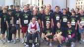 Two hundred-plus staff and faculty participate in Mayor's 5K Run/Walk Challenge