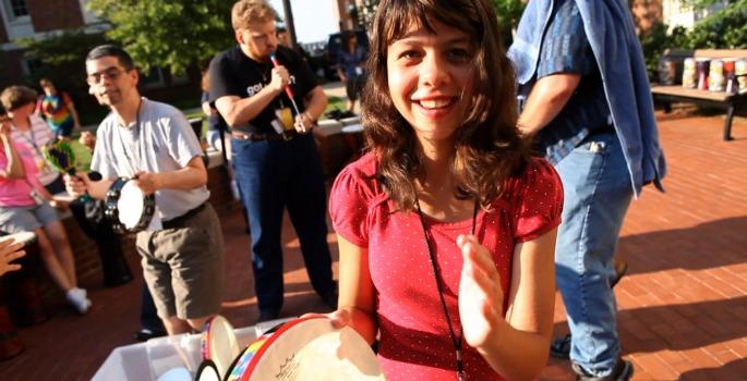 Karina Scali at Lifting Lives Music Camp