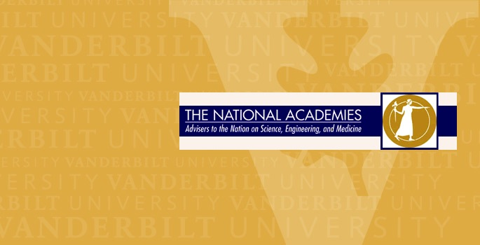 VU banner with National Academies logo