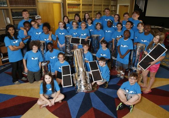 VUCast: See stars at space camp