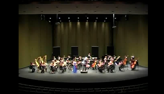 Watch: Vanderbilt Orchestra with Blair Student Concerto Competition winners
