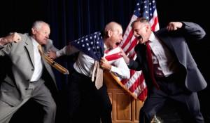 Why politicians won't reach across the aisle
