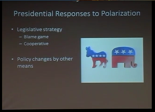 "David Lewis: ""Polarization and the Presidency"""