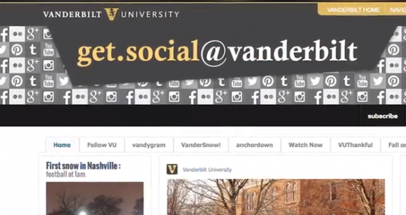 QuickVU Trending: Get social, Vanderbilt