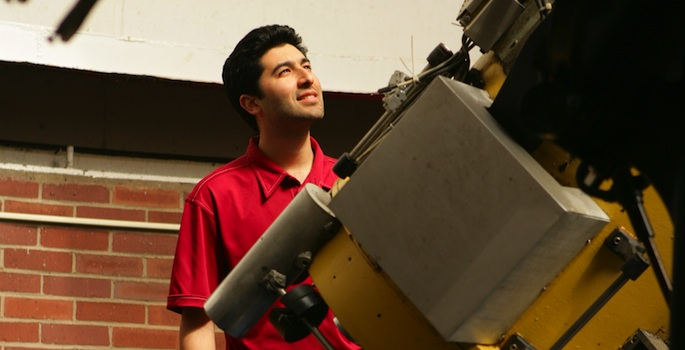 Keivan Stassun at Dyer Observatory