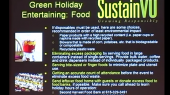 Green Bag Luncheon Series: Celebrating the holidays sustainably