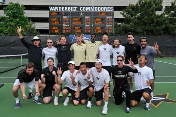 Men's tennis is Sweet 16 bound | Vanderbilt News ...