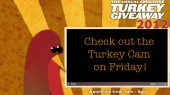 Turkey Cam gives sneak peek at annual holiday giveaway