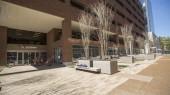 Benches, trees highlight VUMC Plaza renovation
