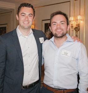 Nick Lovinger, BA'15 (left) and Jackson Vaught, BA'16, are co-presidents of the Metro-New York Vanderbilt chapter.
