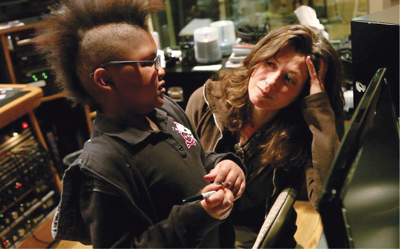 Photo of Amy Grant with Gigi Pasley