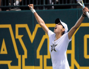 Astra Sharma concluded her Commodore singles career as Vanderbilt's first five-time All-American