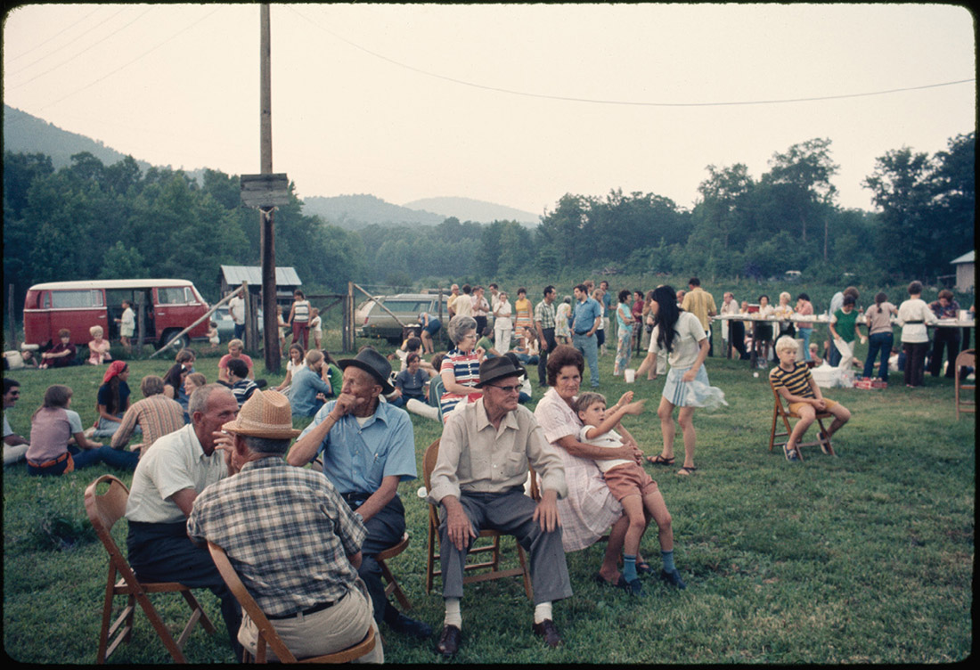 In the summer of 1971, upon their arrival in the East Tennessee community of Briceville, members of the Appalachian Student Health Coalition are invited to an overnight party at the home of Byrd Duncan, head of the Briceville Health Council and a sufferer of black lung for many years. Briceville had been a coal mining town, and when the mines closed, local doctors packed up, making it difficult for residents to obtain health care. Duncan, who had spent years working in the mines, said Vanderbilt students helped treat about 200 people per day from the surrounding area during their stay in Briceville. (DIGITAL SOUTHERN HISTORICAL COLLECTION/UNC-CHAPEL HILL)