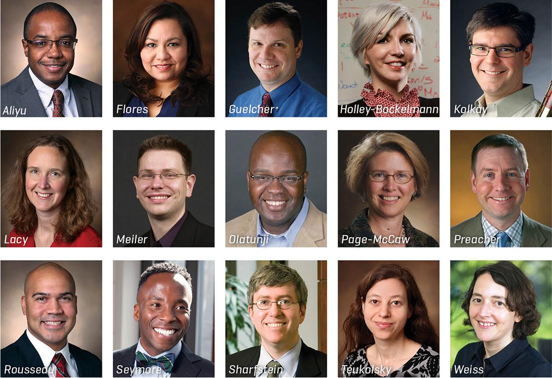 photos of faculty fellows