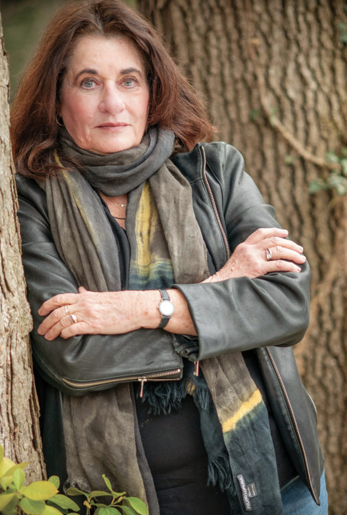 "Investigative journalist and New York Times best-selling author Elaine Shannon has spent decades reporting from the globe's danger zones. Her latest book recounts the efforts to take down notorious criminal Paul LeRoux, whom she describes as ""a twisted-genius entrepreneur and cold-blooded killer who brought revolutionary innovation to transnational crime."" Photo by Susan McElhinney"