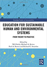 Book cover, Education for Sustainable Human and Environmental Systems by Will Focht, et al