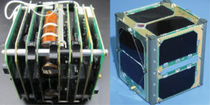 "AMSAT's Fox1-Cliff CubeSat, or AO-95, carries Vanderbilt's ""flight spare"" radiation effects experiment, a Virginia Tech camera experiment, and a Penn State–Erie gyroscope experiment. (AMSAT)"