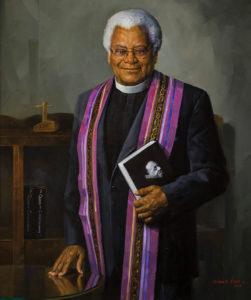 Portrait of Rev. James Lawson by Simmie Knox