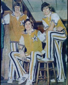 "The ""F-Troop"" (left to right): Butch Feher, BA'76; Jeff Fosnes, BA'76, MD'80; and Joe Ford, BA'76 (VANDERBILT ATHLETICS)"