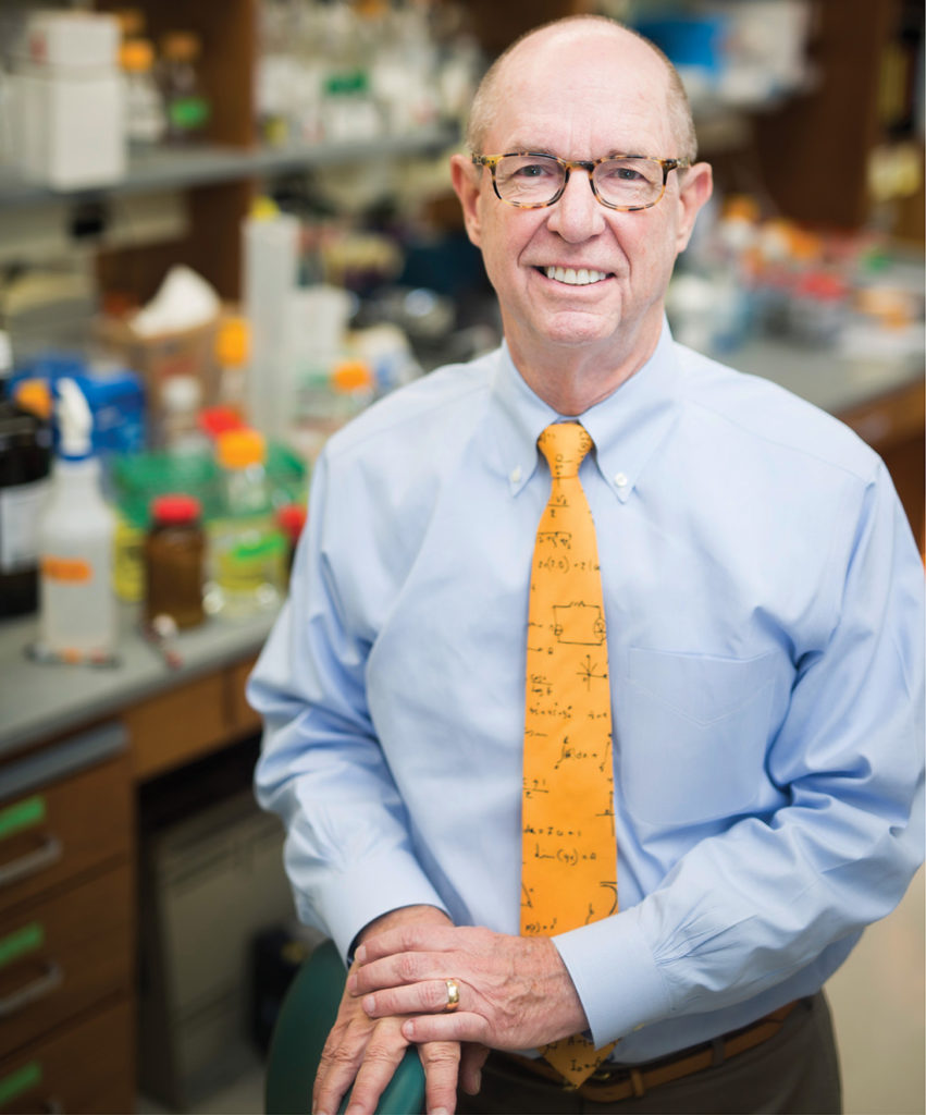 Professor Larry Marnett is Vanderbilt University School of Medicine's first dean of basic sciences. An unusual administrative structure among schools of medicine, its creation is an answer, in part, to decreased federal funding for the basic sciences and changes in the health care market. (SUSAN URMY)